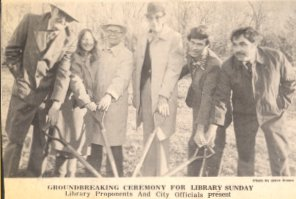 1961 Groundbreaking Ceremony