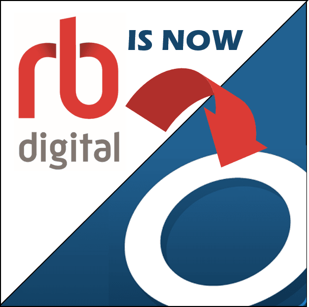rbDigital and Overdrive logos