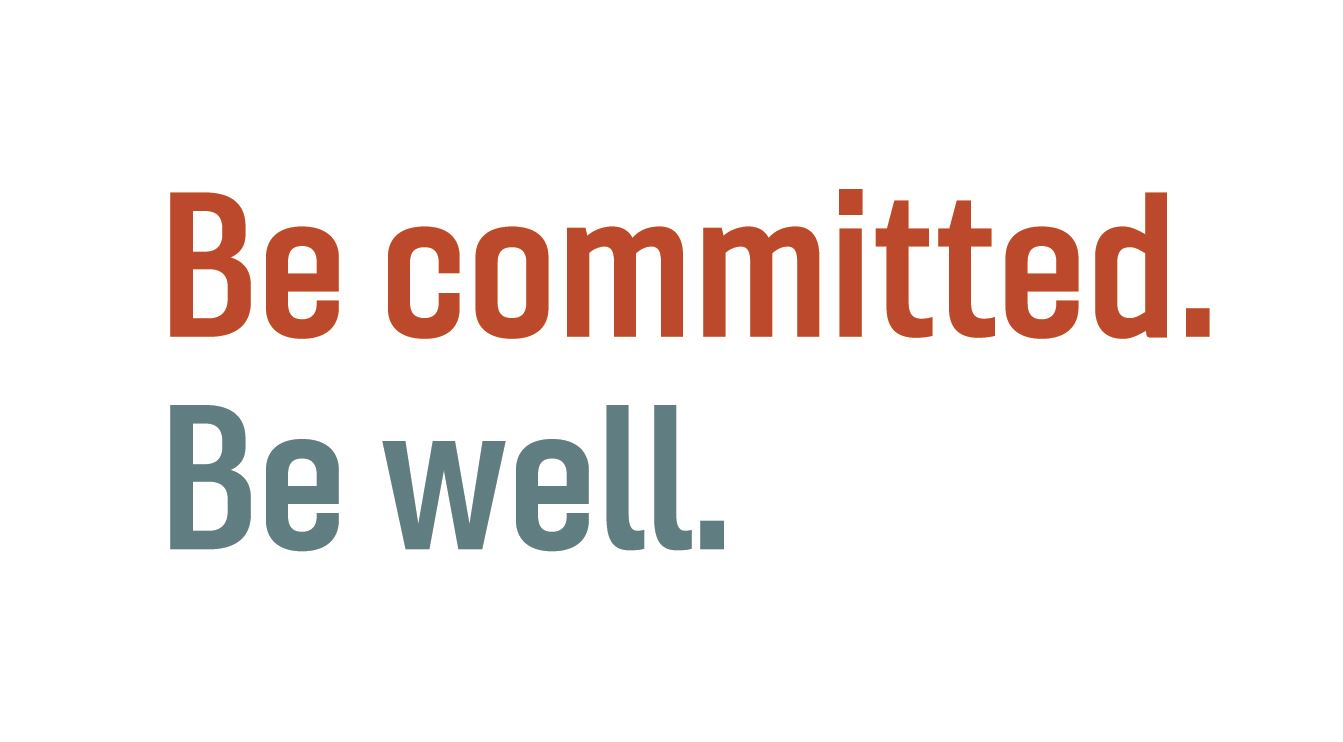 Be committed Be well LOGO_color stacked-01