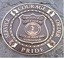 Police Shield Service Courage Order Pride